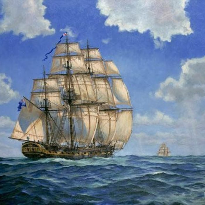 Advantagia, a frigate