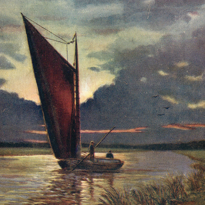 Cormorant, a wherry