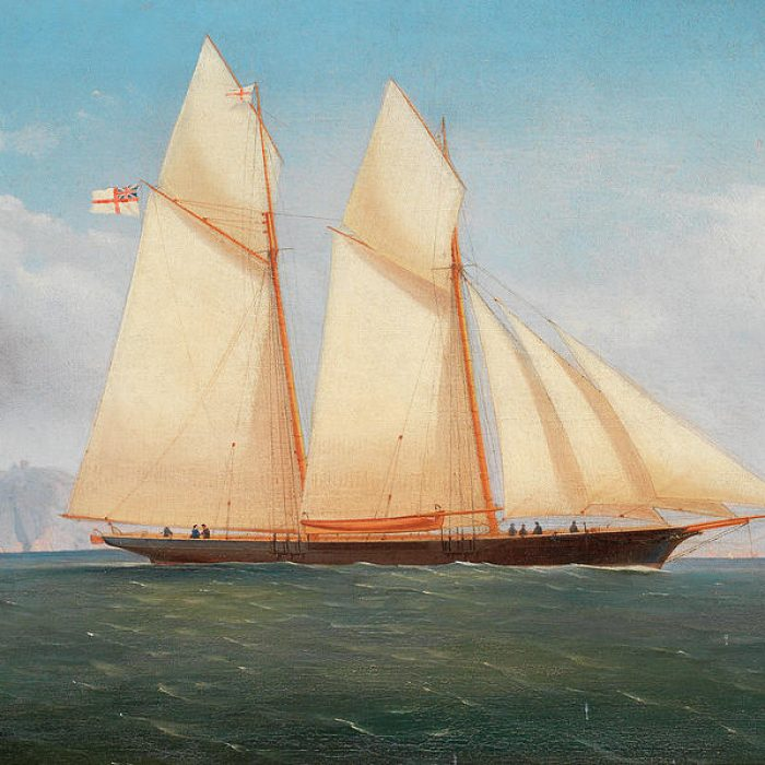 Busted Steed, a schooner